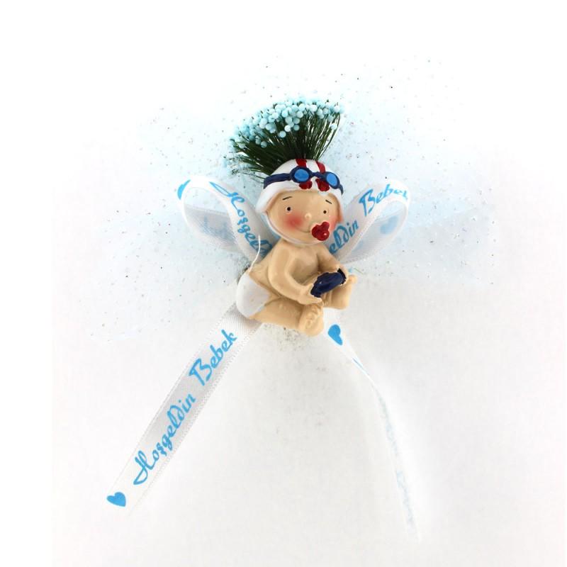 Mavi Pilot Bebek