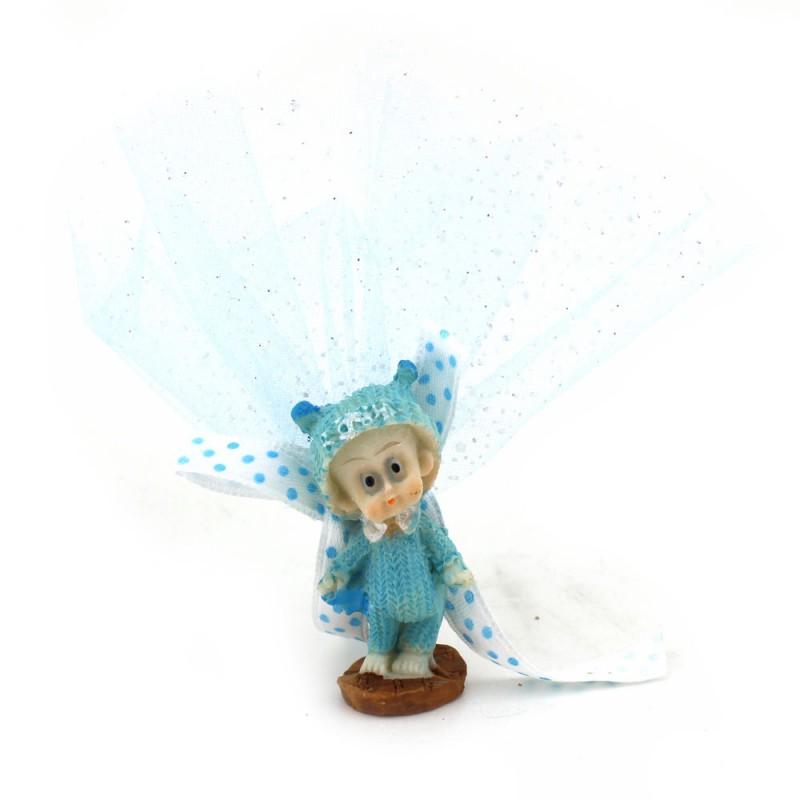 Mavi Kazaklı Bebek