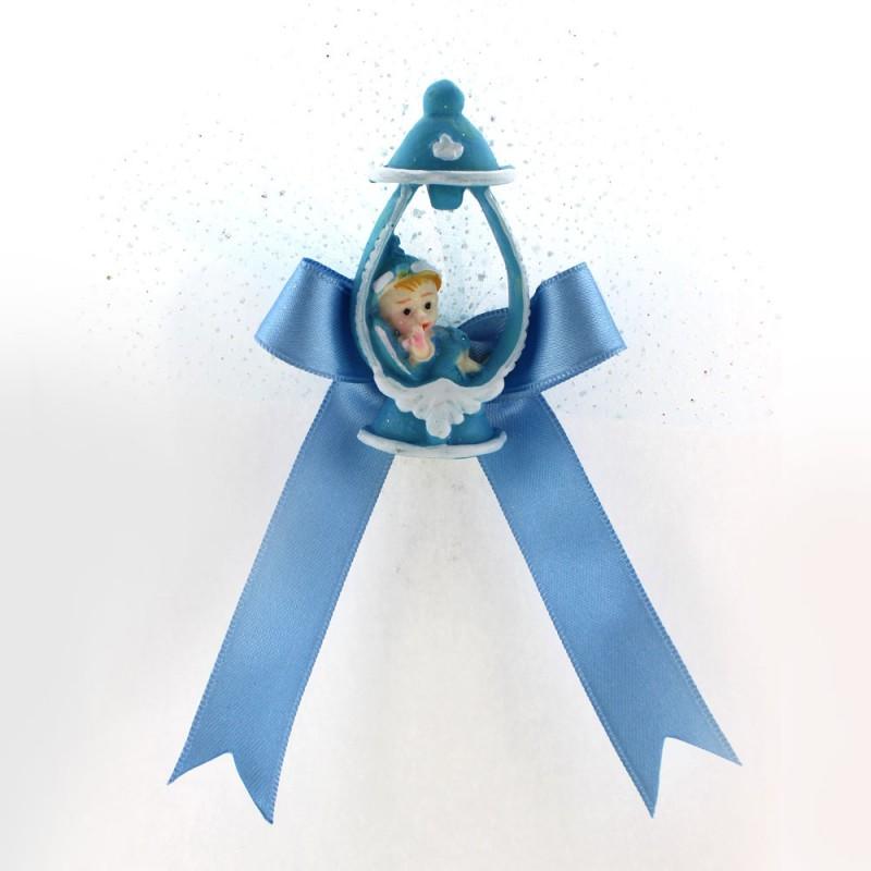 Mavi Biberon İçi Bebek