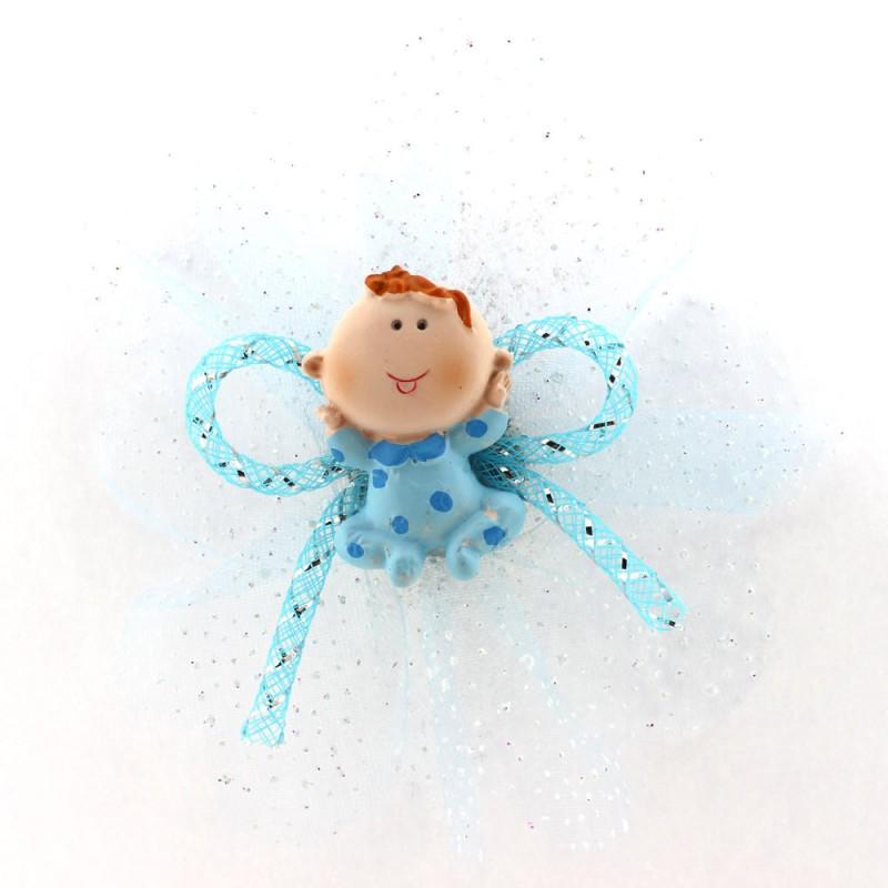 Mavi Pijamalı Bebek