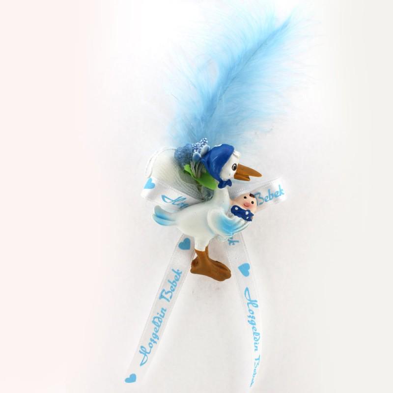 Mavi Yeni Leylekli Bebek